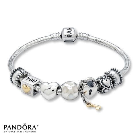 pandora bracelet jared pandora quot all about quot starter bracelet set