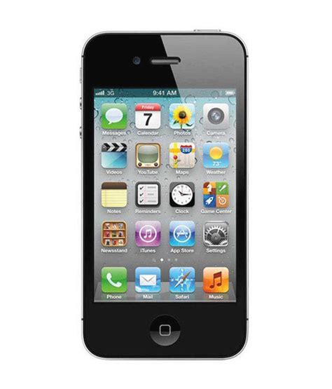 iphone 4 8 gb black price in india buy iphone 4 8 gb black on snapdeal