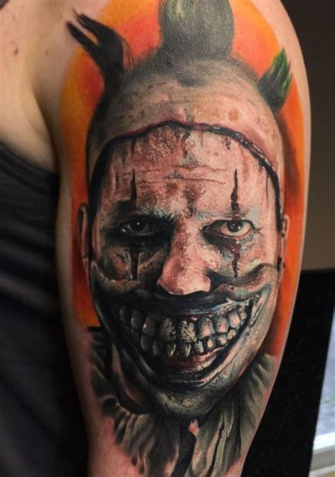 small scary tattoos scary american horror story inkstylemag