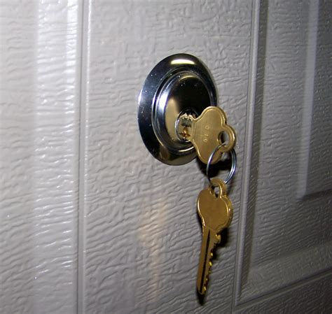 Lock Door garage door lock cylinder