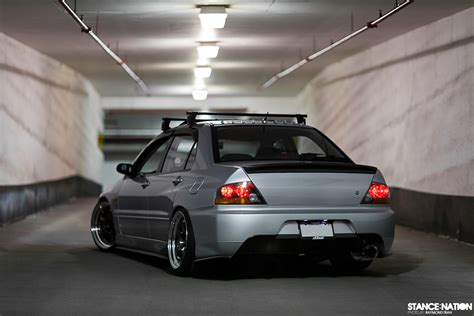 stanced mitsubishi lancer image gallery stanced evo