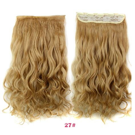 150g hair extensions 150g 18 inch 2 30 curly synthetic hairpiece clip in