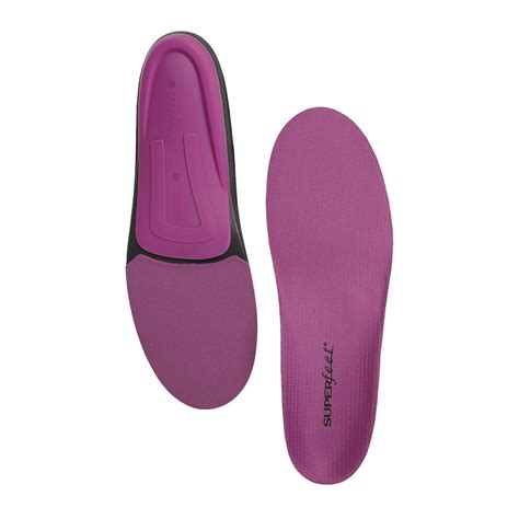 superfeet for high heels superfeet berry trim to fit insoles medium high arch