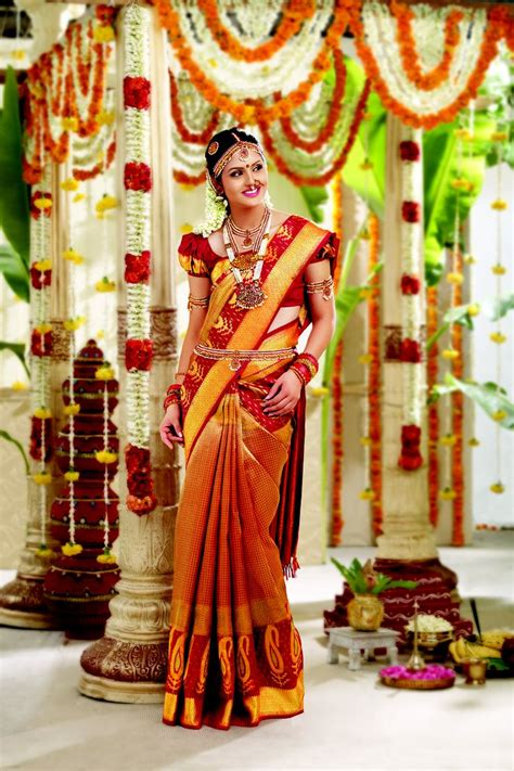 Indian Wedding Bridal Sarees For Tamil Wedding 2017