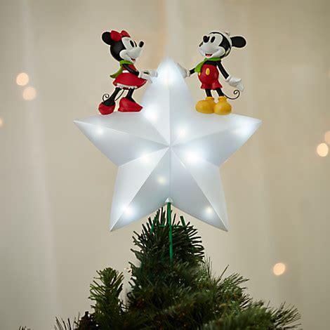disney tree topper mickey and minnie light up