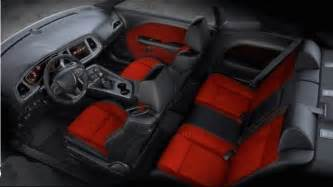 Dodge Challenger Seats 2017 Dodge Challenger Hellcat Exterior Interior Engine
