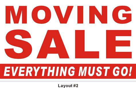 Moving Sale At Makeupcom image gallery moving sale