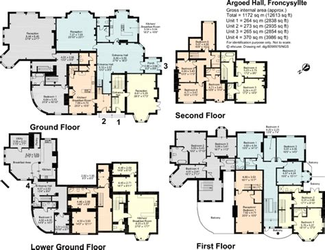 castle floor plan 4 bedroom detached house for sale in argoed hall