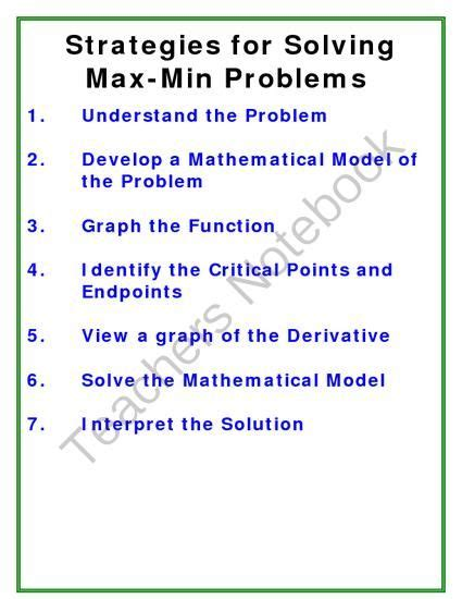solving for x in the y domain strategies for overcoming gender barriers to leadership books strategies for solving max min problems from jamesrahn on