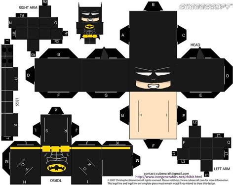 Batman Papercraft - 17 best images about papercrafts from around the web on