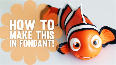 How To Make A Fish Out Of A Paper Plate - how to make nemo from finding nemo cake decorating
