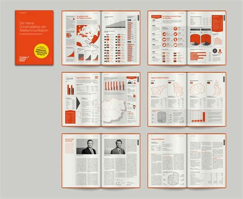 report layout design ideas telekom austria group by order of seso media group