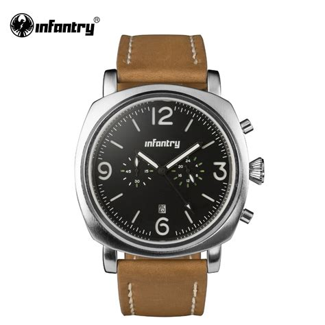 aliexpress buy infantry mens watches silver