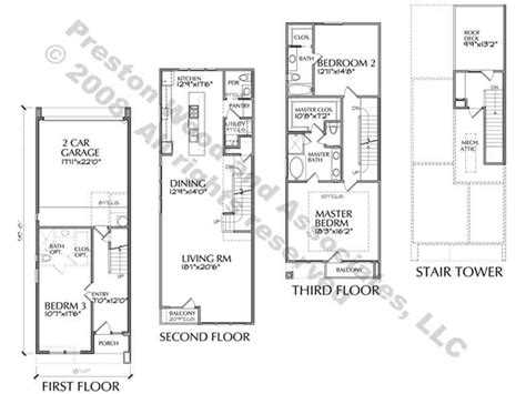 luxury townhome floor plans narrow townhouse floor plans modern townhouse floor plans