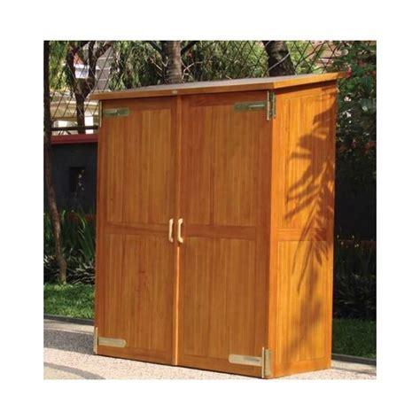 armadietti da esterno armadi in legno da giardino armadi giardino armadi da