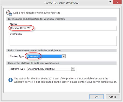 reusable workflow creating custom workflows with sharepoint designer 2013