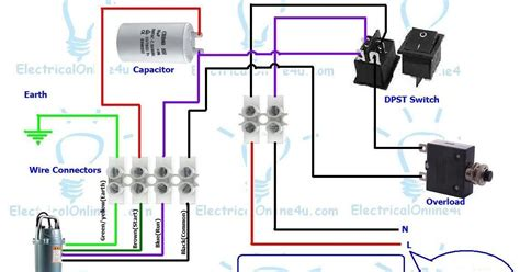submersible box wiring diagram 110 volt
