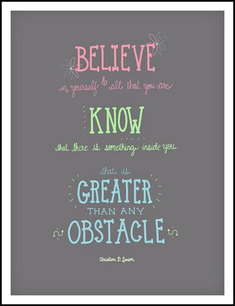 Mary Oliver Print Believe In Yourself Inspirational Inspirational Quotes For Room