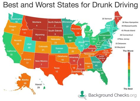 10 year background check dui dakota 2nd worst state for dui problems in