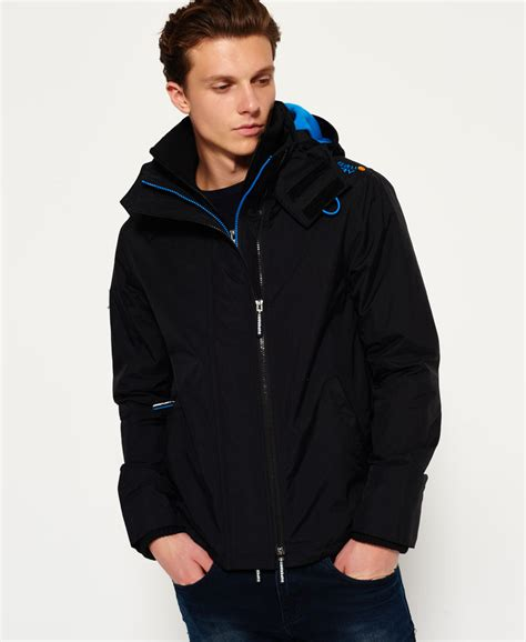 Jaket Windcheater Blue Black Chelsea exclusive superdry black denby blue pop zip hooded arctic windcheater jacket ies1617 superdry