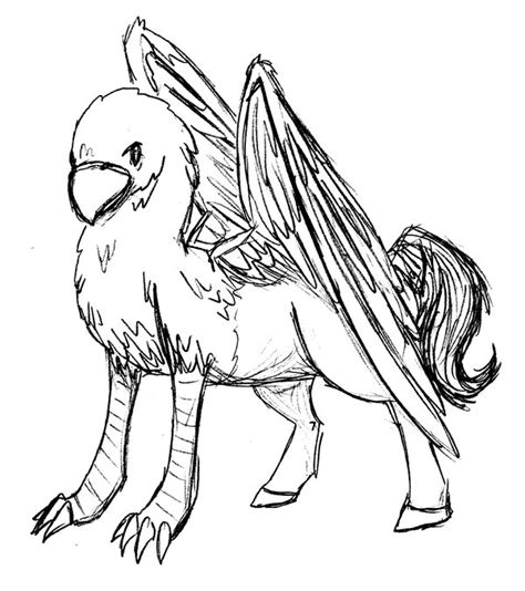hippogriff coloring page harry potter buckbeak coloring pages coloring pages