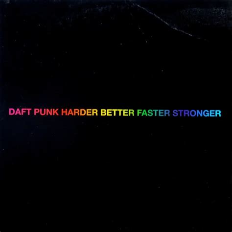 daft better faster stronger daft harder better faster stronger vinyl records lp