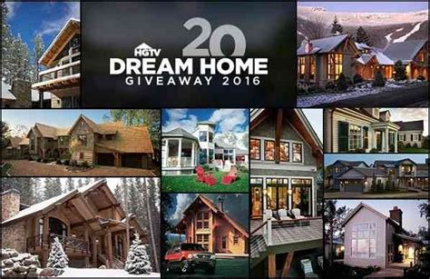 dream home sweepstakes hgtv s 20 days of 20 dreams sweepstakes sweepstakesbible