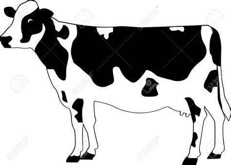 cow pattern vector art holstein cow clipart clipart collection holstein cow