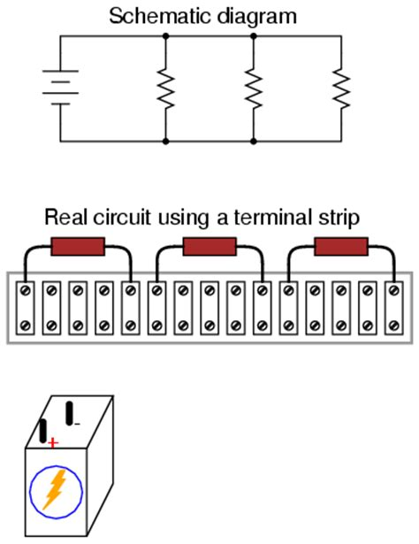are the three resistors shown wired in series parallel or a combination lessons in electric circuits volume i dc chapter 5