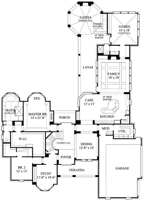 casitas floor plans casita with gazebo ceiling 67071gl 1st floor master