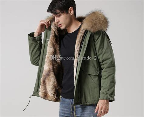 Jaket Parka Pria Hrcn Unknown Army Green H 2027 Bahan Baby Canvas 2018 brown fur trim hoody winter coats mr mrs itlay