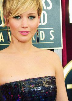 pin jennifer lawrence haircut 2014 short on pinterest mop top style pixie with short tapered nape short faded