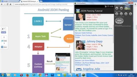 android json android json parsing tutorial 1 overview of json
