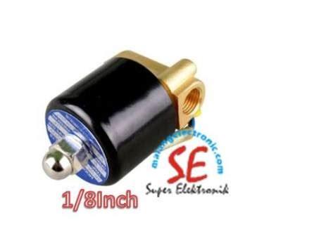 Ac Ukuran Kecil soelenoid valve ukuran kecil 1 8 inch bahan kuningan