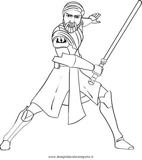 Obi Wan Coloring Pages free coloring pages of obi wan kenobi