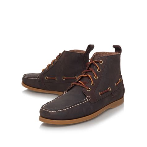 brown polo boots lyst polo ralph barrot boot in brown for