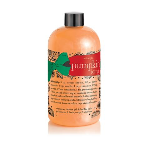 Philosophy Detox Shower Gel by Philosophy Pumpkin Icing Shoo Shower Gel And