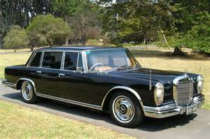 Mercedes 600 Grosser For Sale Sold Mercedes 600 Grosser Saloon Auctions Lot 7