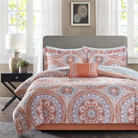 complete bedding sets madison park essentials serenity complete bed and sheet set