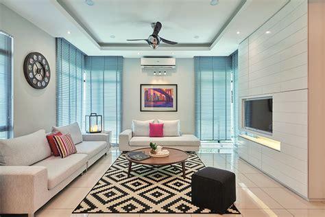 rr tips ruang tamu berkonsep minimalis malaysias