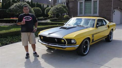 ford mustang fastback  boss clone classic muscle