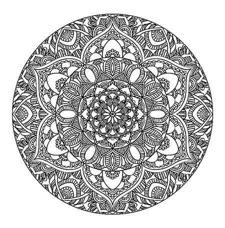 Art Meditation: 18 Free Coloring Pages For Adults
