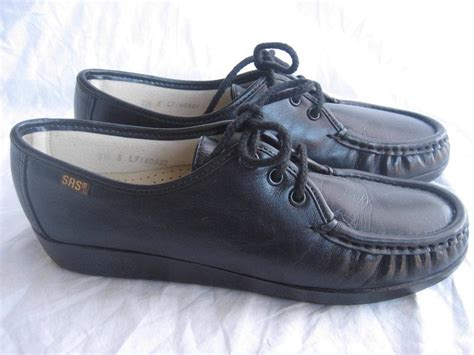 sas womens shoes new sas womens siesta shoes 7 5 s black oxfords lace up