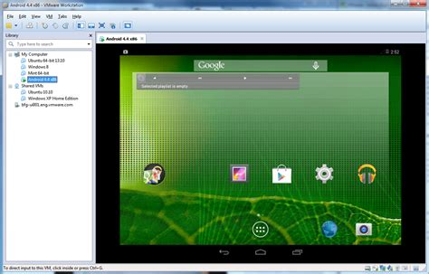 experience android kitkat in vmware workstation vmware workstation zealot vmware blogs - Vmware Android