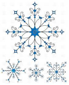 Ornate snowflakes 5293 download royalty free vector clipart eps