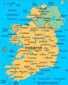 World Map Ireland by Map Of Ireland