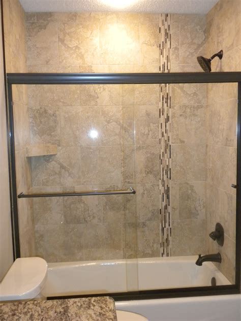 Wonderful Small Bathroom Tile Floor #2: Tub-shower-combos-have-lack-style-ceiling-tile-including-an-interesting-mosaic-bathroom-ideas-bathroom-shower-ceiling-with-tiles-bathroom_ideas.jpg