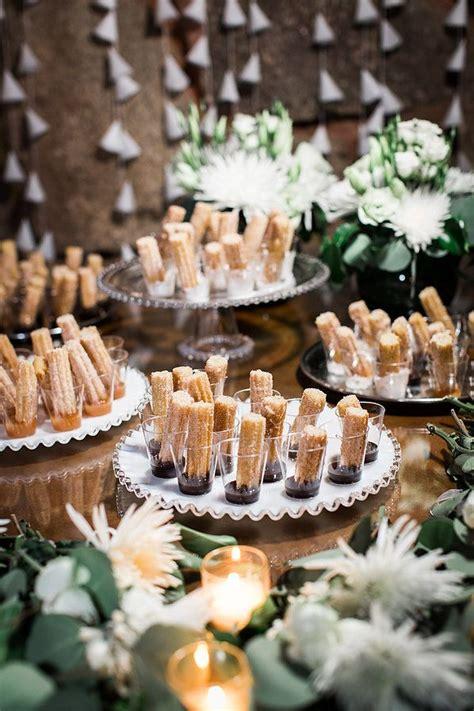 churros wedding dessert wedding dessert ideas cake alternatives wedding cake alternative