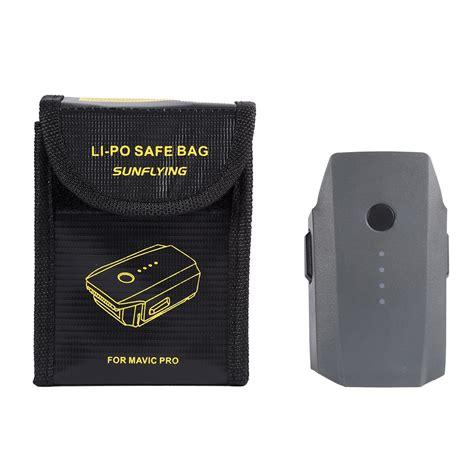 Promo Dji Mavic Lipo Safe Bag Battery 1 lipo safety guard bag explosionproof storage bag for dji
