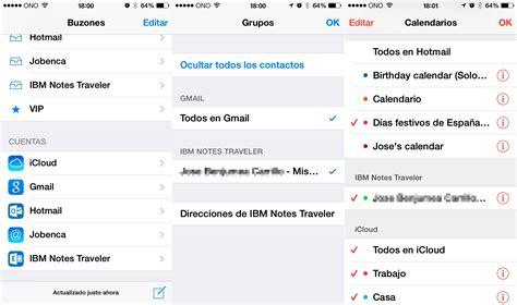 lotus traveler iphone notes traveler correo agenda y contactos lotus en mi